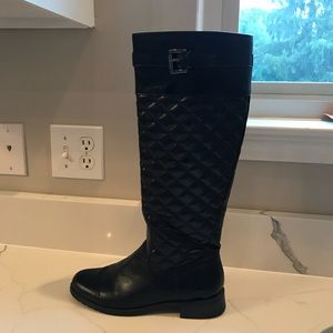 Shoes - Black tall riding boots - size 7.5